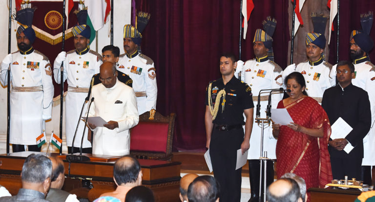 Modi gets New Guns in the Cabinet – President of India administers oath of office and secrecy to Members of Council of Ministers at Rashtrapati Bhavan