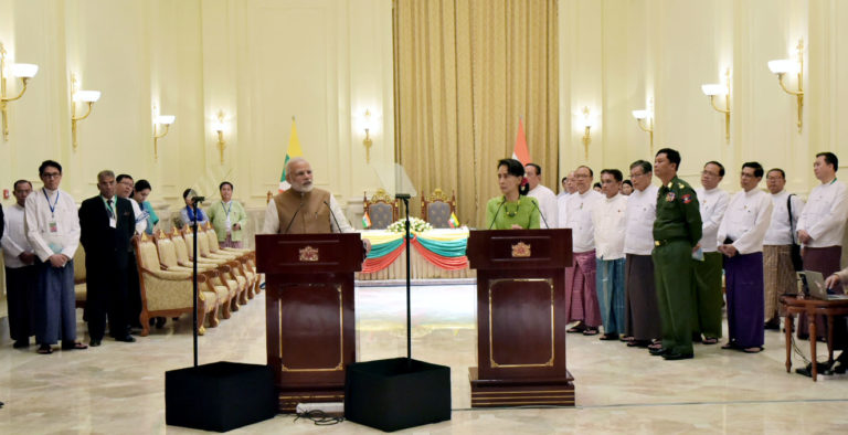 Historic 11 MOU Signed between India and Myanmarduring PM Modi's Visit to Myanmar