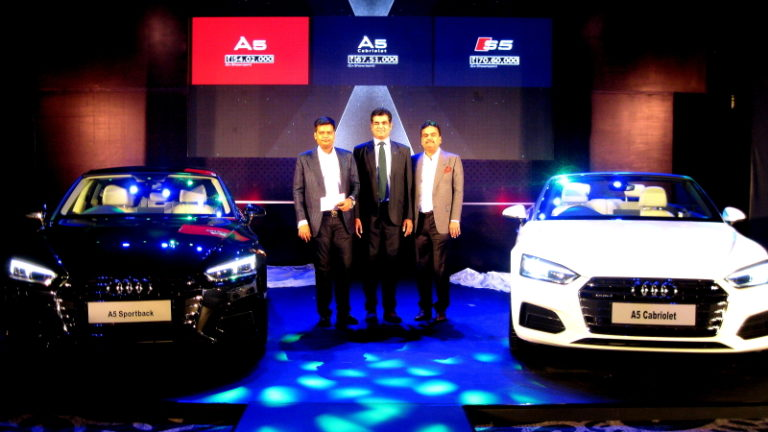 Audi A5 Sportback, A5 Cabriolet and S5 Sportback Launched – An Audi way to attract Indian market