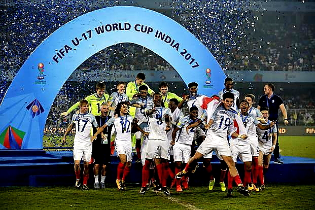 Crowning Glory for England at FIFA U-17 World Cup – England beats Spain by 5-2 Goals