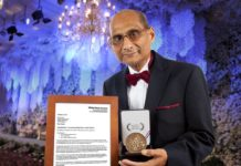 Ranen Sharma and His latest Award
