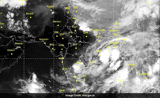 India Severe Weather Warning – 09th to 13th October, 2017