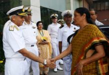 Nirmala Sitharaman, Addresses Naval Commanders' Conference