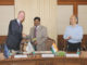 The Joint Secretary, DEA, Shri S. Selvakumar and the Vice President, European Investment Bank, Mr. Andrew McDowell signed the Bangalore Metro rail Project finance contract, in New Delhi on October 05, 2017.