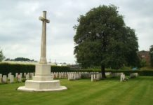 Laventie Military Cemetery, France