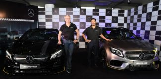 (L-R) Mr. Roland Folger - MD & CEO, Mercedes-Benz India and Abdul Qadir