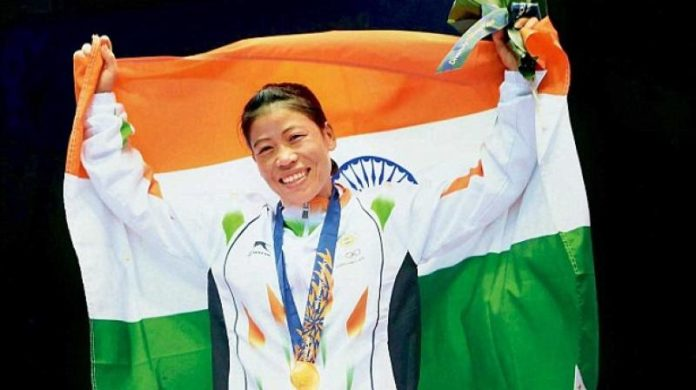 Mary Kom wins gold at Asian Confederation Women's Boxing Championships