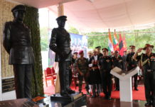 Army Chief Honours Field Marshal KM Cariappa and General KS Thimayya