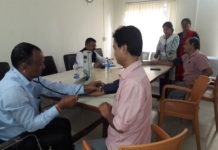 Weekly health camps for media families roll on at Guwahati Press Club
