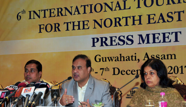 Incredible India – 6th International Tourism Mart at Guwahati Highlights varied Tourism products of North East Region