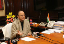 The Union Minister for Finance and Corporate Affairs, Shri Arun Jaitley making a statement about the provision of financial resolution and deposit Insurance bill 2017, regarding protecting the interest of depositors and removing any misgivings in this regards, in New Delhi on December 11, 2017.