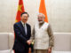 The State Councillor of the People's Republic of China, Mr. Yang Jiechi calling on the Prime Minister, Shri Narendra Modi, in New Delhi on December 22, 2017.