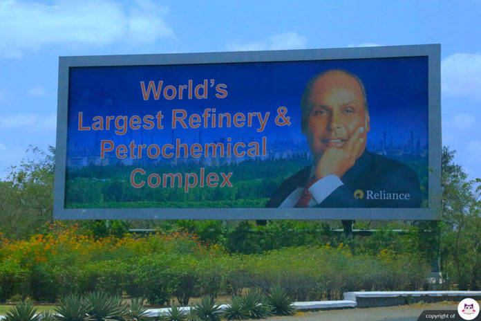 RIL Jamnagar Reliance Refinery