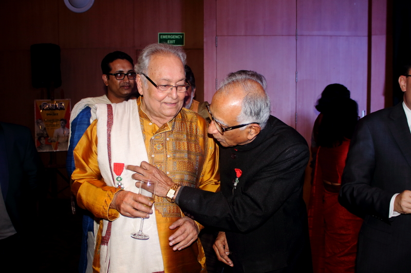 Soumitra Chatterjee - French Award Night 12