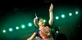 BU 18- DONA GANGULY PERFORMING AT THE BASANTA UTSAV 2018