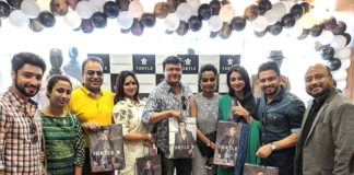 Mr Arnab Pandey, Retail Head Turtle Limited with the starcast of 'Aschh...