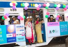 Tram Ride with Cancer Patients on World Cancer Day