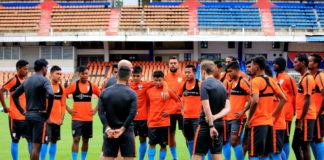 India gear up to take on the Kyrgyz Republic in Football