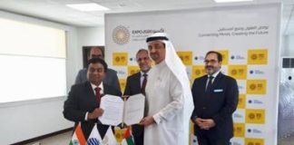 India Signs MOU With World EXPO 2020 Dubai - India and World Expo 2020 signed participants contract today for India's pavilion