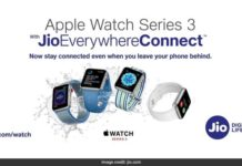 Apple Watch 3 Series with Jio