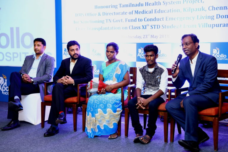Apollo Hospital Saves a 17 Year-Old- School Student with Rat Kill poison effected liver transplant