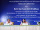 The Union Minister for Women and Child Development, Smt. Maneka Sanjay Gandhi at the National Conference on Beti Bachao Beti Padhao (BBBP) - with the State Officials, District Officials/Nodal Officers, in New Delhi on May 04, 2018. The Secretary, Ministry of Women and Child Development, Shri Rakesh Srivastava is also seen.