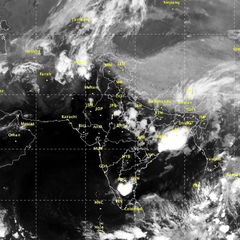 Severe thunderstorm activity over east & northeast India during next 3-4 days