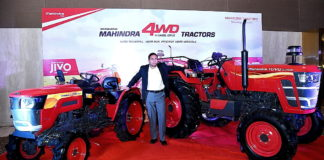 Mahindra 4WD range on the YUVO and JIVO platform 4