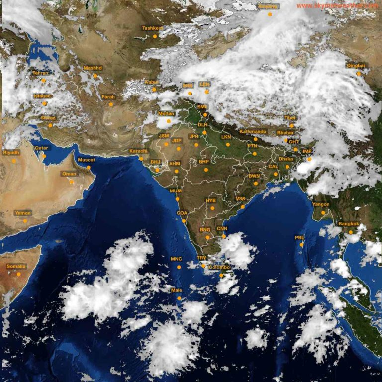 Weather Warning for Indian states – Ongoing severe weather activity over the country and warnings for next 5 days