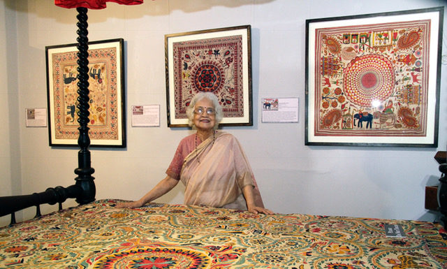 The Crafts Council of West Bengal celebrates 50 glorious years with Eye of the Needle - Kantha, the Quilt Embroidery of Bengal at her best