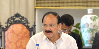 The Vice President, Shri M. Venkaiah Naidu addressing the Governors and Lt. Governors in the Conference of Governors 2018, at Rashtrapati Bhawan, in New Delhi on June 05, 2018.