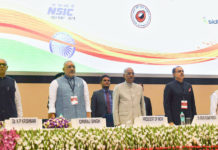 The President, Shri Ram Nath Kovind at the inauguration of the National Conclave (MSME Udyam Sangam 2018), on the occasion of the 2nd United Nations MSME Day, in New Delhi on June 27, 2018. The Minister of State for Micro, Small & Medium Enterprises (I/C), Shri Giriraj Singh, the Secretary, MSME, Shri Arun Kumar Panda and the Secretary, Ministry of Skill Development & Entrepreneurship, Dr. K.P. Krishnan are also seen.