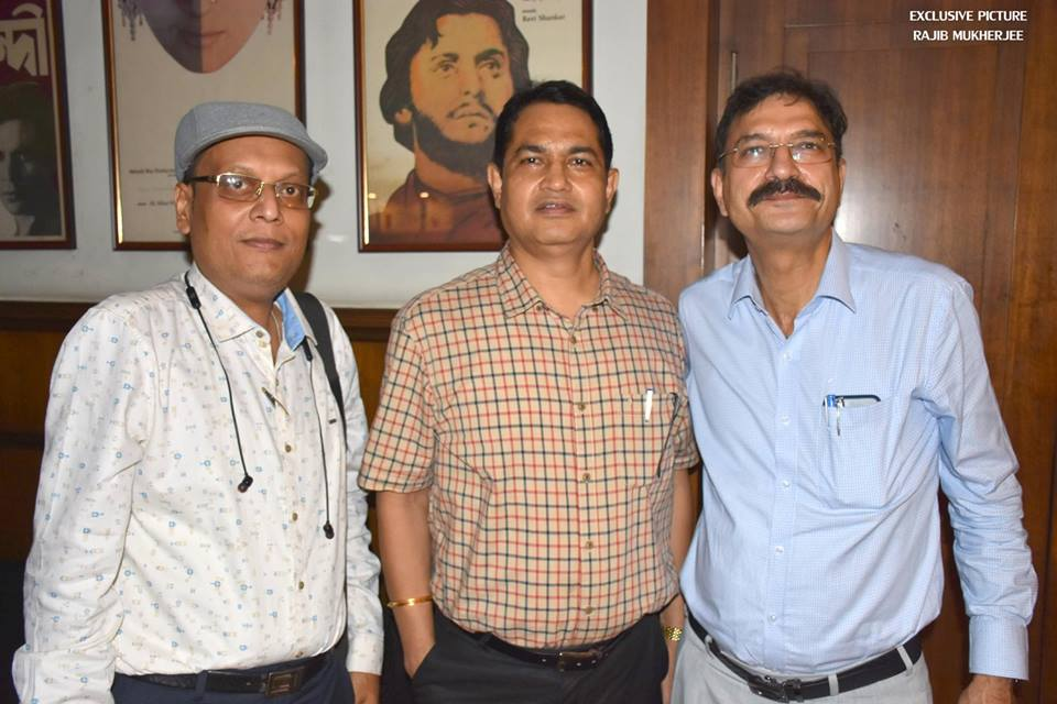Suman Munshi with Aleya Director Dr. Humayun Kabir IPS