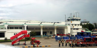 Airport in Agartala