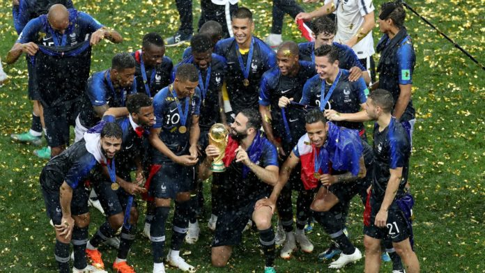 France wins FIFA World Cup 2018