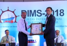 NAVEEN ARIES MARINE AWARDING PRESENTER CERTIFICATE