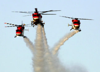 Indian air force helicopters
