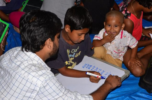 POTHER DAABI SCHOOL FOR POOR KIDS AT BANGALORE 14