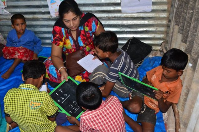 POTHER DAABI SCHOOL FOR POOR KIDS AT BANGALORE 2