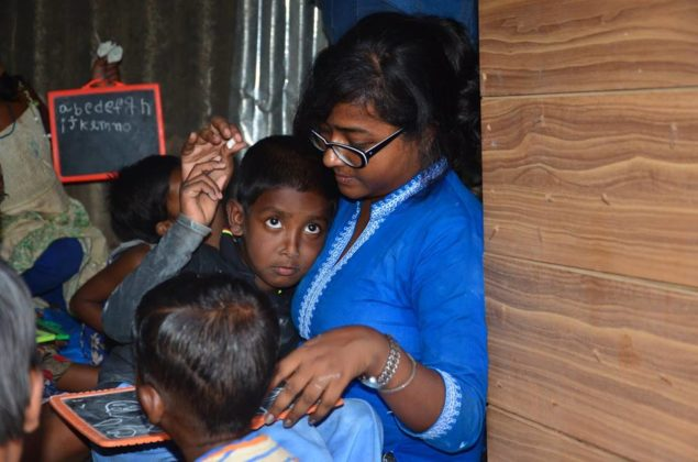 POTHER DAABI SCHOOL FOR POOR KIDS AT BANGALORE 23