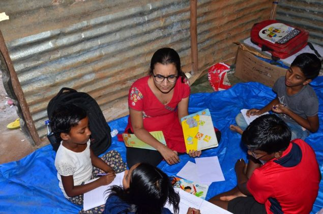 POTHER DAABI SCHOOL FOR POOR KIDS AT BANGALORE 5