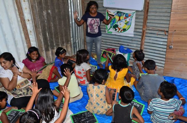 POTHER DAABI SCHOOL FOR POOR KIDS AT BANGALORE 6