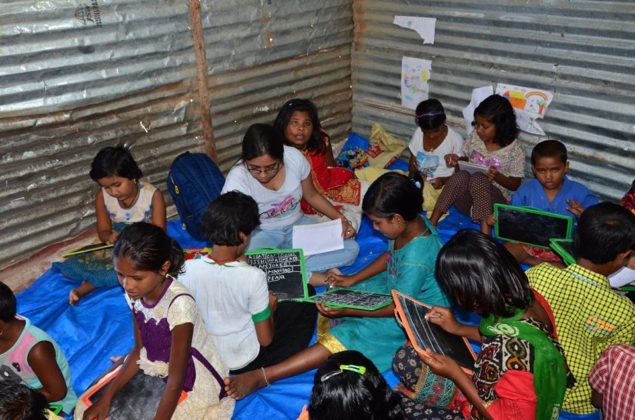 POTHER DAABI SCHOOL FOR POOR KIDS AT BANGALORE