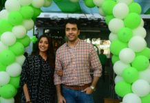 Abir Chatterjee and Paoli Dam at Afraa Deli