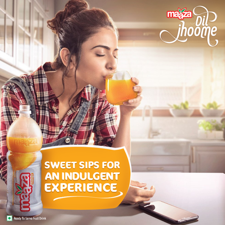 Maaza's new campaign brings alive mango Indulgence in the 'Me Moments' of daily life