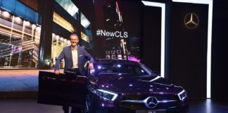 Mr. Michael Jopp, Vice President - Sales & Marketing at the launch of new dream car Mercedes-Benz CLS (1)