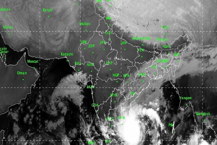 Severe Cyclonic Storm 'PHETHAI' over west central Bay of Bengal weakens into a cyclonic storm over west central Bay of Bengal
