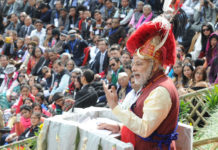 Modi at Nagaland (File Picture)