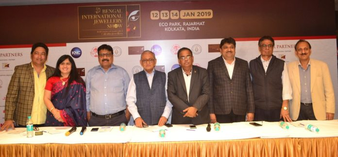 Calcutta's first B2B International jewellery event the Bengal International Jewellery Show 2019