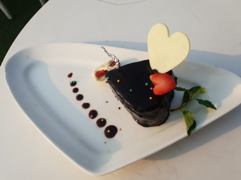 Valentine's special Dessert with lover's only